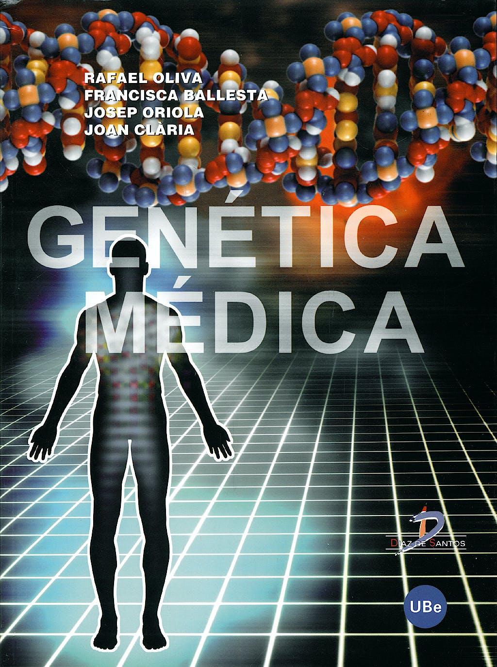 Portada del libro 9788447533176 Genetica Medica