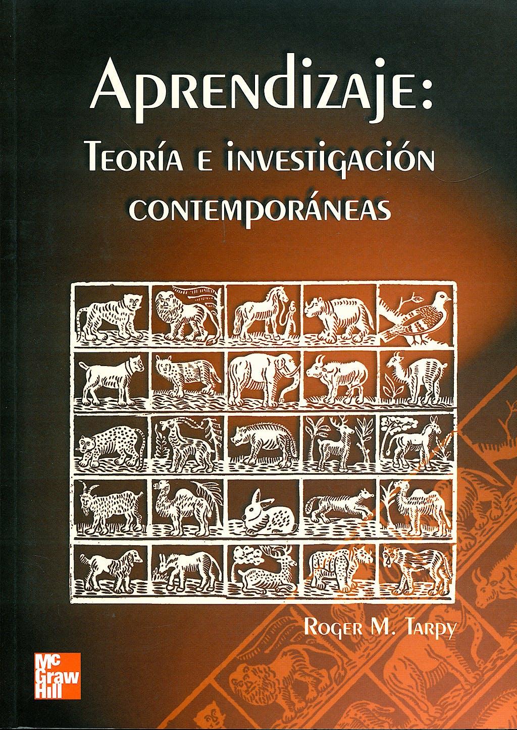 Portada del libro 9788448124922 Aprendizaje: Teoria e Investigacion Contemporaneas