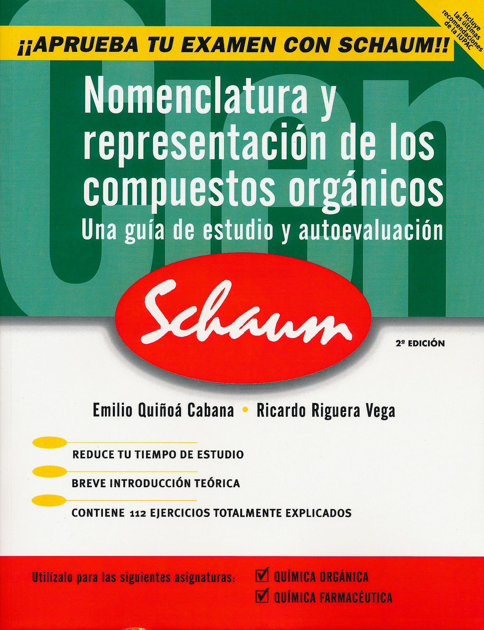Portada del libro 9788448143633 Nomenclatura y Representacion de los Compuestos Organicos