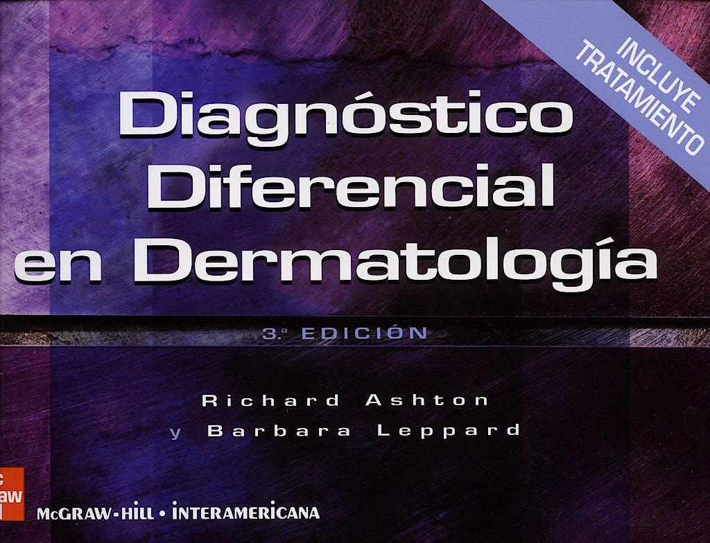 Portada del libro 9788448151638 Diagnostico Diferencial en Dermatologia