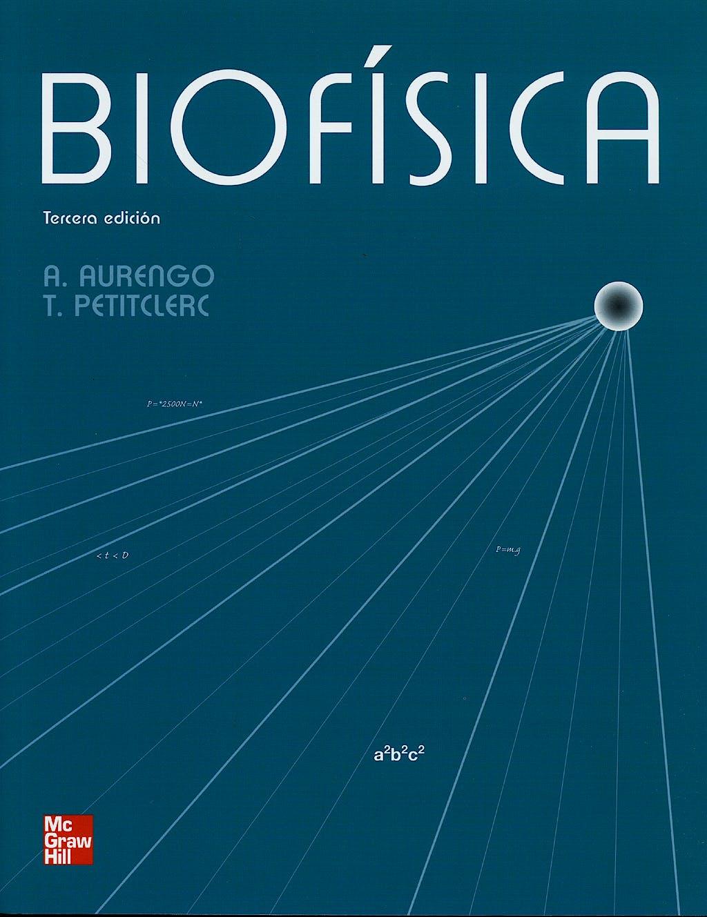 Portada del libro 9788448163921 Biofisica