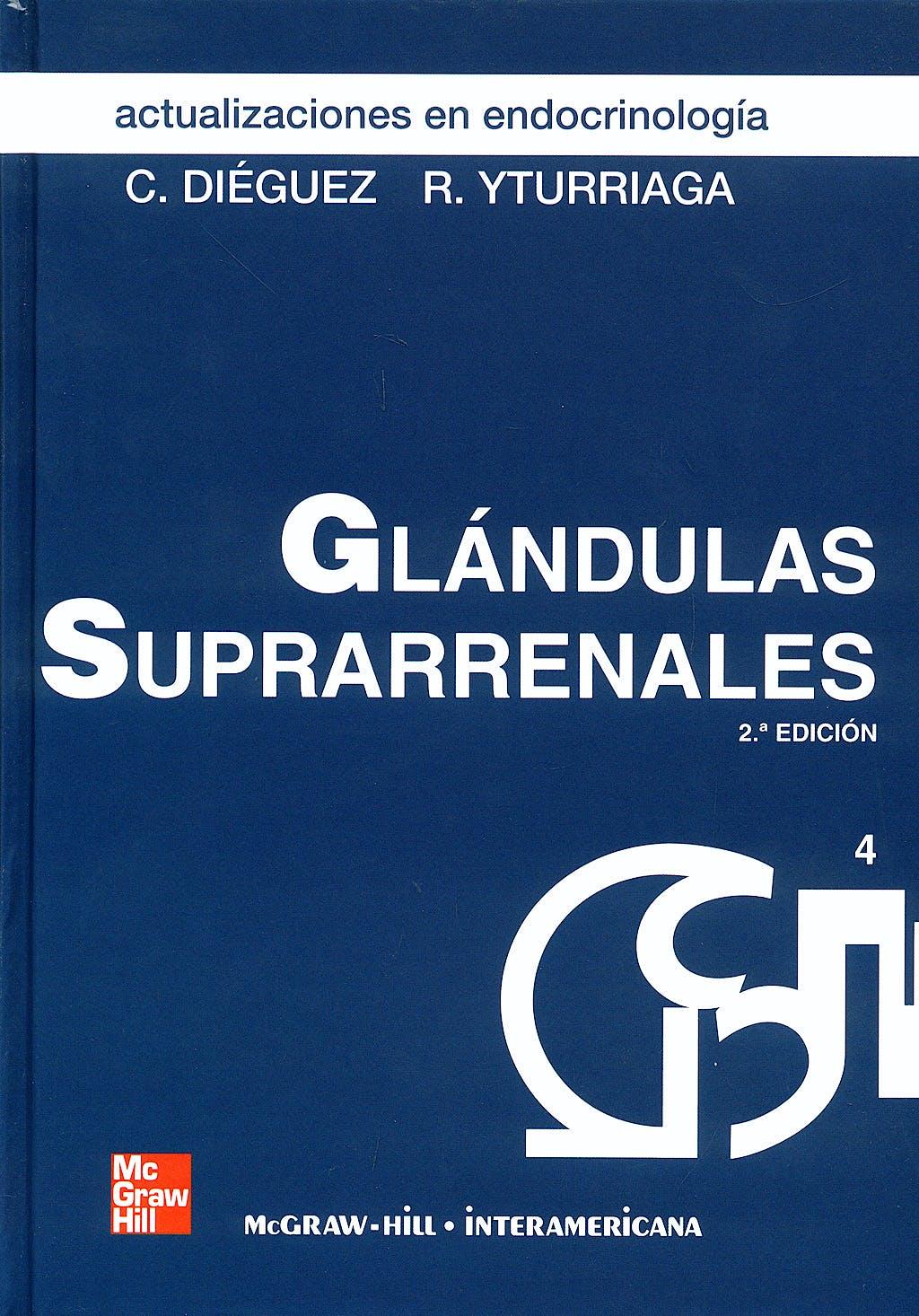 Portada del libro 9788448168650 Actualizaciones en Endocrinologia 4: Glandulas Suprarrenales