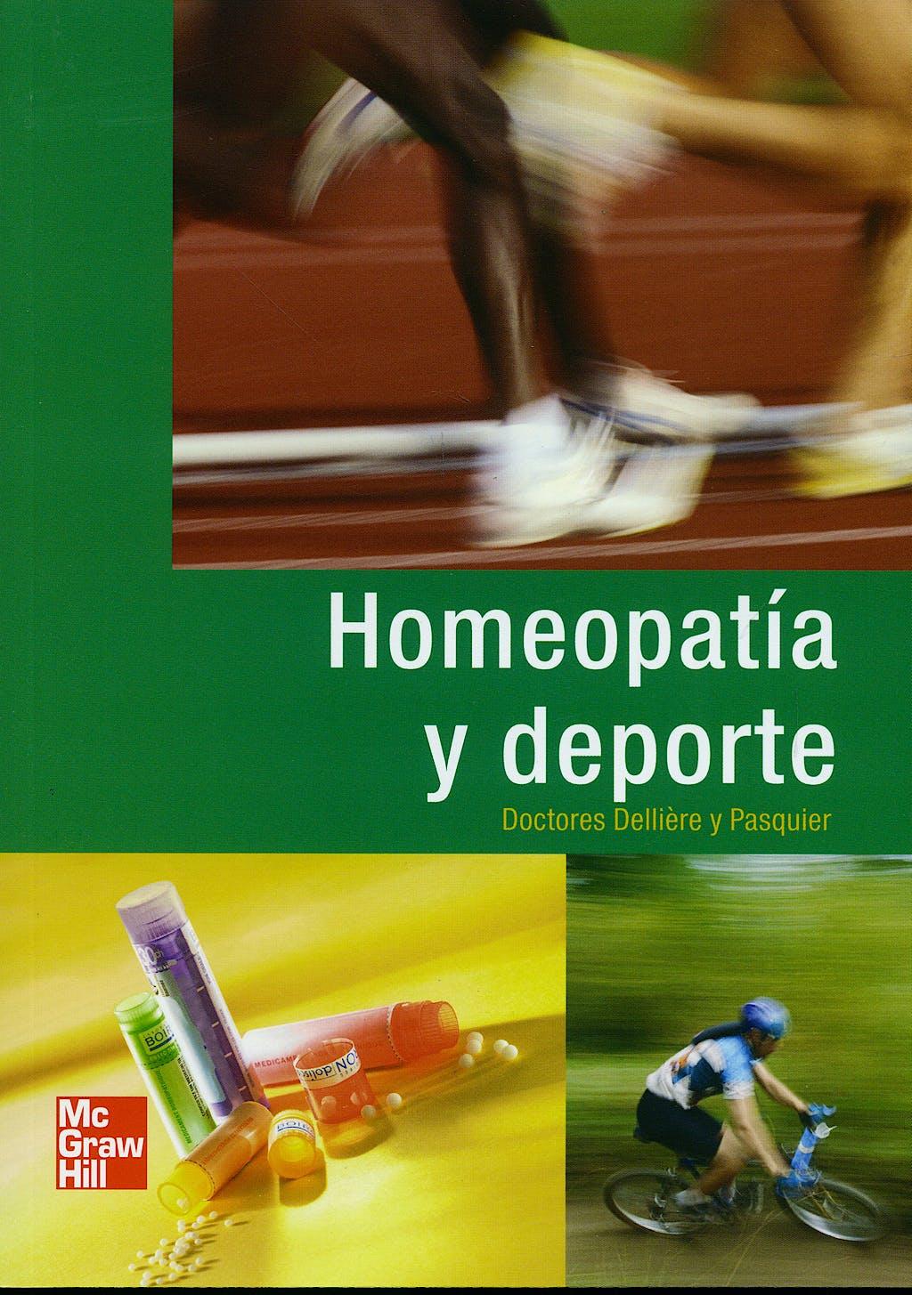 Portada del libro 9788448168810 Homeopatia y Deporte