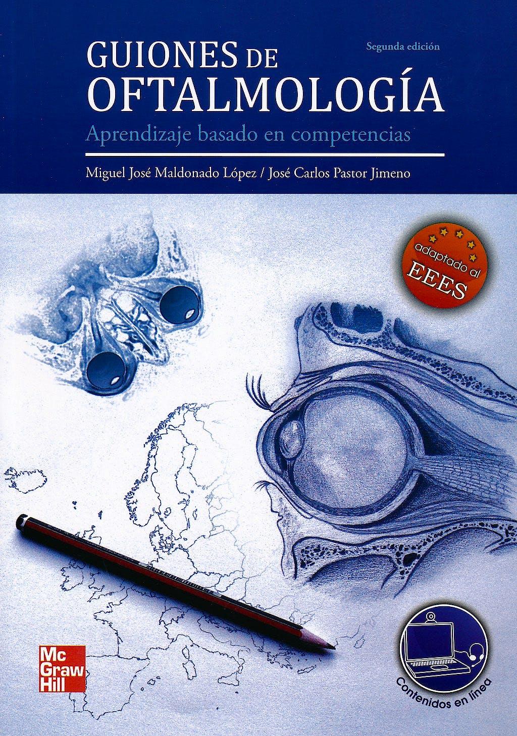 Portada del libro 9788448175399 Guiones de Oftalmología. Aprendizaje Basado en Competencias