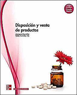 Portada del libro 9788448175849 Disposición y Venta de Productos (Grado Medio)
