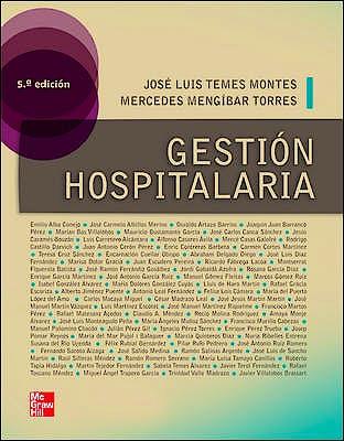 Portada del libro 9788448178918 Gestión Hospitalaria