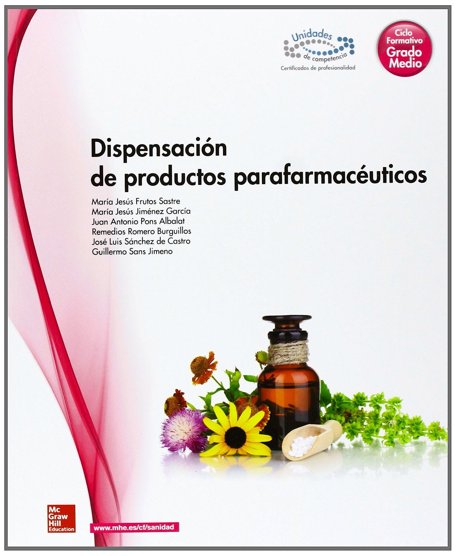 Portada del libro 9788448183882 Dispensación de Productos Parafarmacéuticos (Ciclo Formativo Grado Medio)