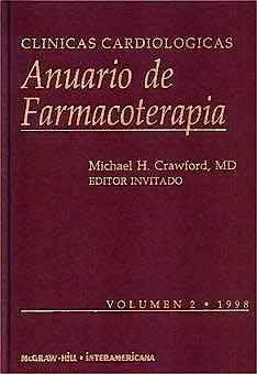 Portada del libro 9788448602246 Clinicas Cardiologicas: Anuario de Farmacoterapia