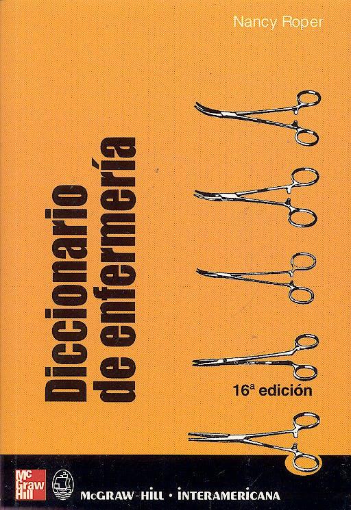 Portada del libro 9788448603038 Diccionario de Enfermeria