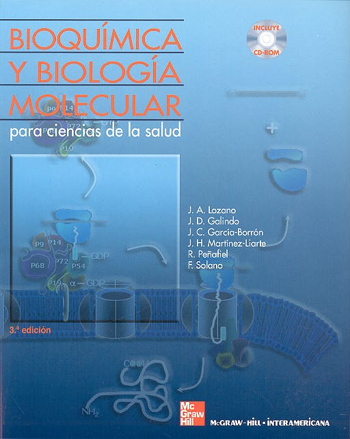 Portada del libro 9788448606428 Bioquimica y Biologia Molecular para Ciencias de la Salud + Cd-Rom