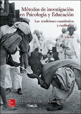 Portada del libro 9788448608385 Metodos de Investigacion en Psicologia y Educacion. las Tradiciones Cuantitativa y Cualitativa