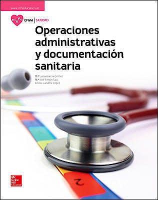 Portada del libro 9788448612023 Operaciones Administrativas y Documentación Sanitaria (Ciclo Formativo Grado Medio)