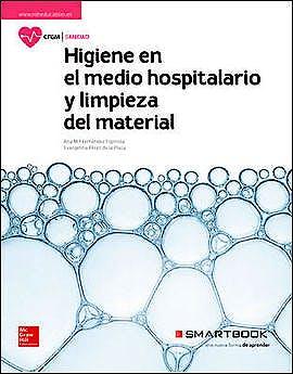 Portada del libro 9788448612160 Higiene del Medio Hospitalario y Limpieza del Material (Ciclo Formativo Grado Medio)