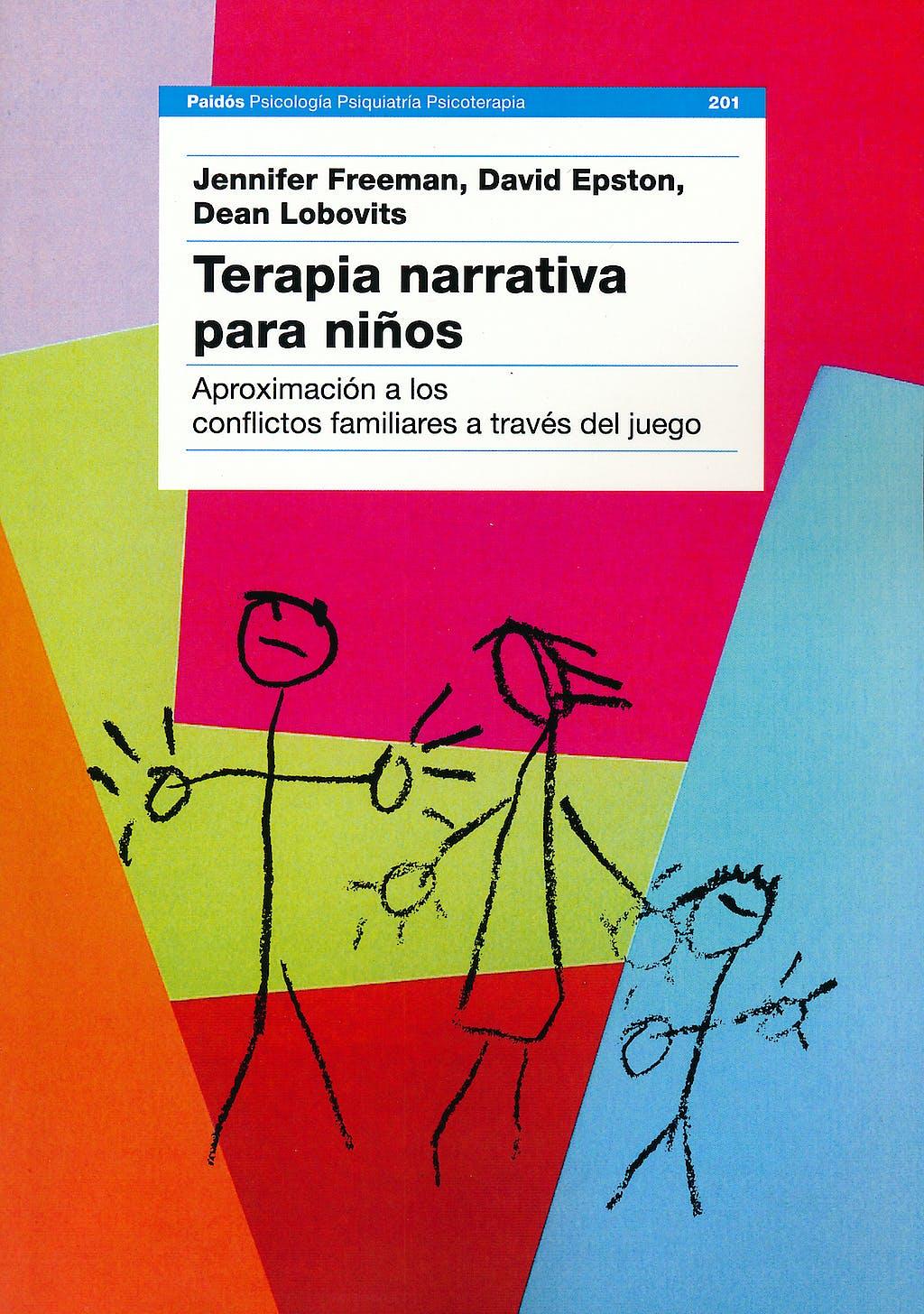 Portada del libro 9788449310560 Terapia Narrativa para Niños. Aproximacion a los Conflictos Familiares a Traves del Juego