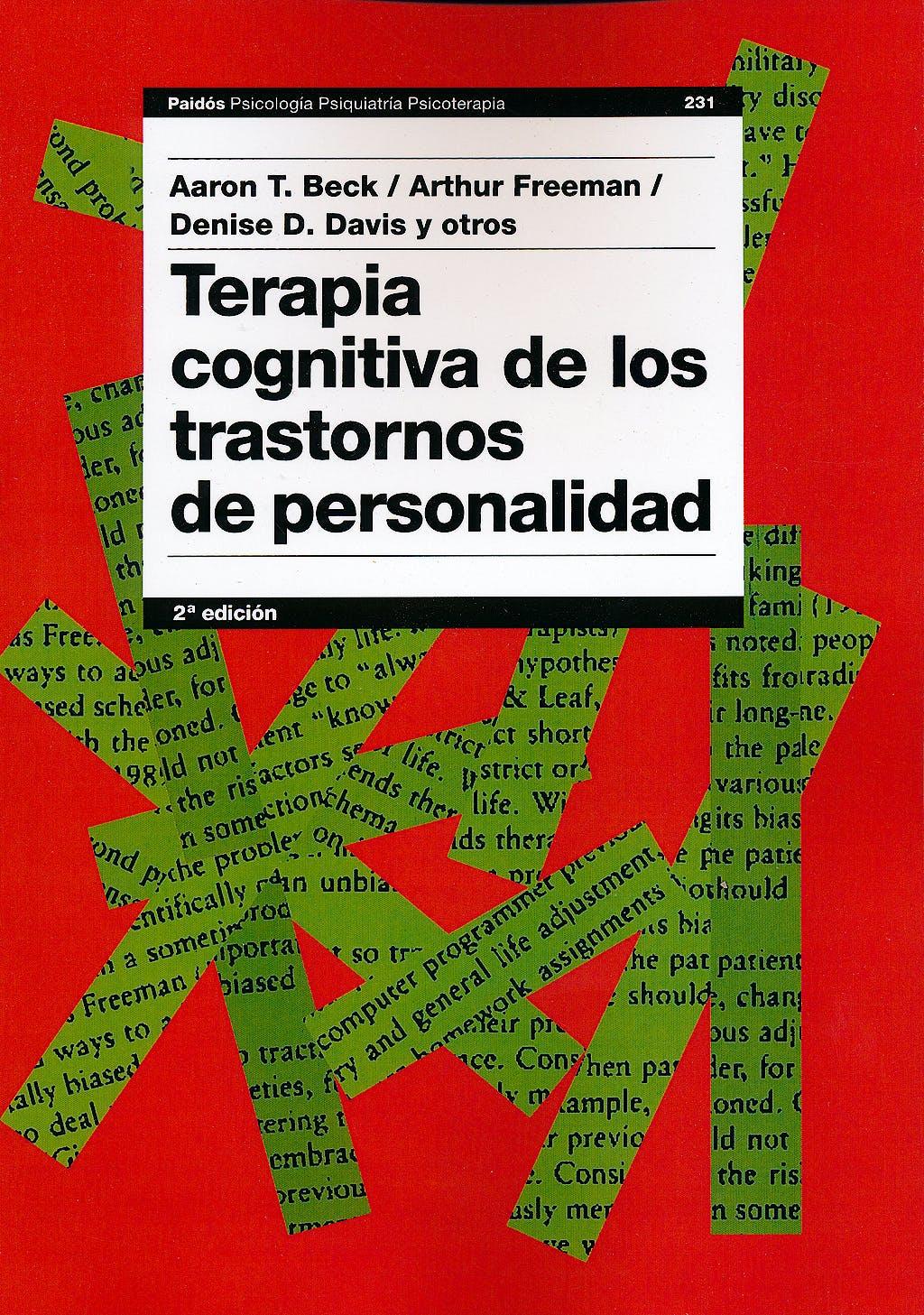 Portada del libro 9788449318047 Terapia Cognitiva de los Trastornos de Personalidad