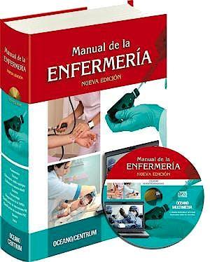 Portada del libro 9788449445323 Manual de la Enfermeria + Cd-Rom