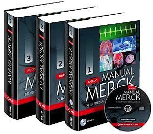 Portada del libro 9788449445712 Nuevo Manual Merck de Informacion Medica General, 3 Vols. + Cd-Rom
