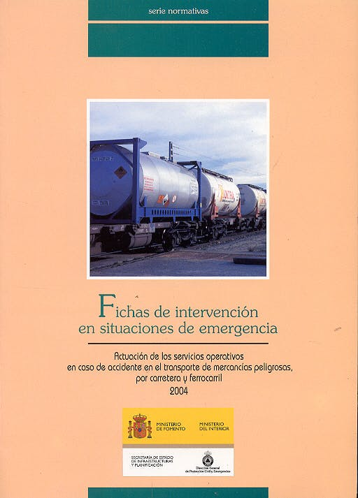 Portada del libro 9788449807374 Fichas de Intervencion en Situaciones de Emergencia. Actuacion de Los