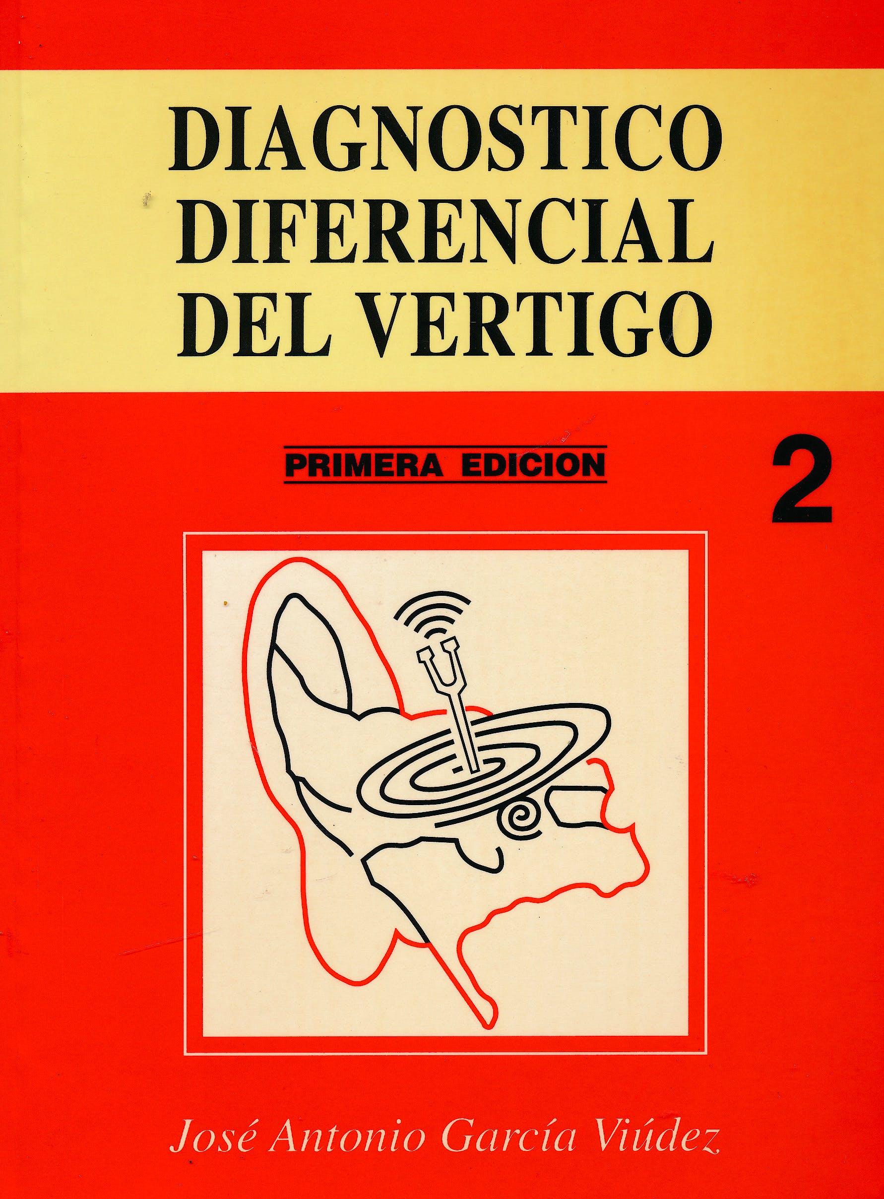 Portada del libro 9788460532293 Diagnóstico Diferencial del Vértigo