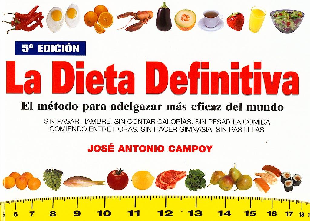 Portada del libro 9788460749783 La Dieta Definitiva