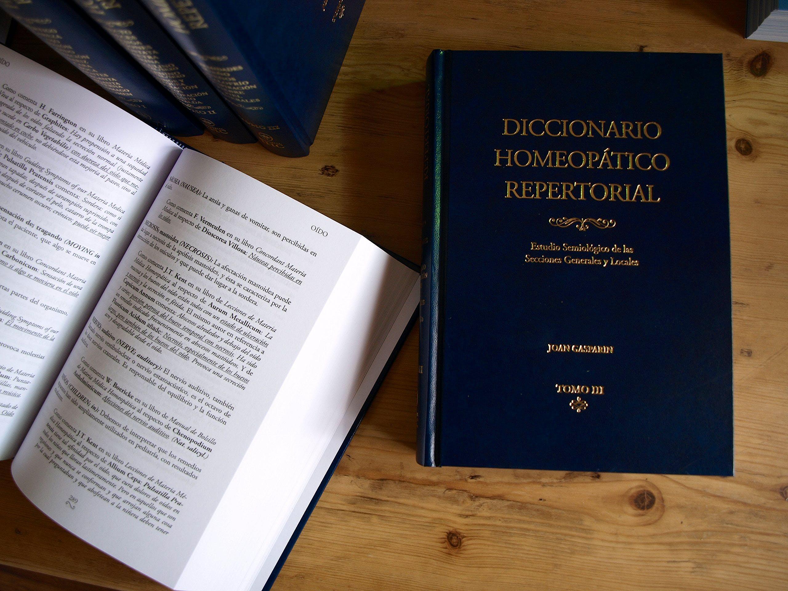 Portada del libro 9788460821601 Diccionario Homeopatico Repertorial, 3 Tomos