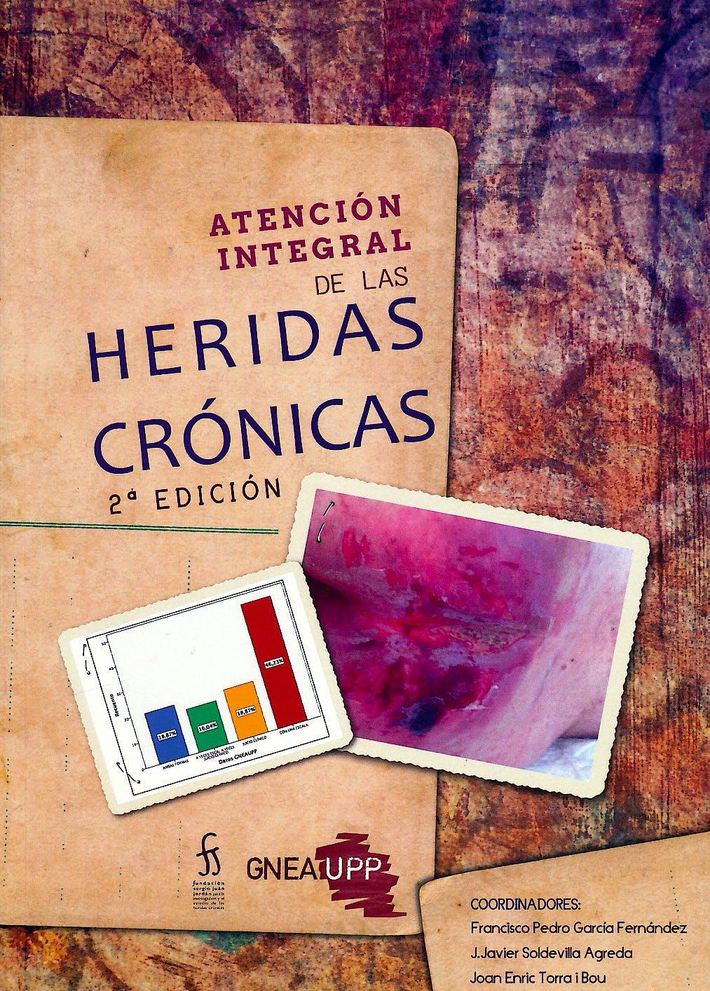 Portada del libro 9788460859246 Atención Integral de las Heridas Crónicas