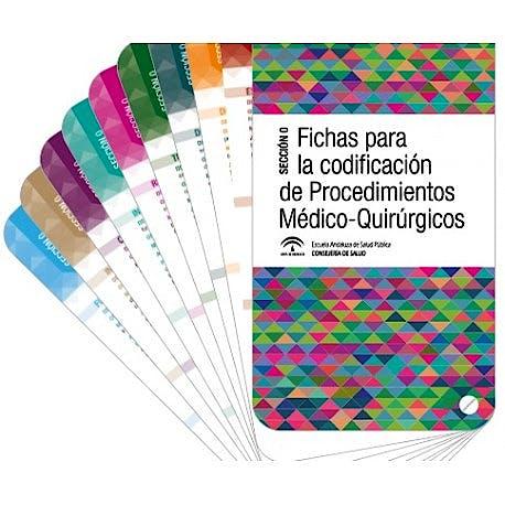 Portada del libro 9788460889434 Fichas para la Codificación de Procedimientos Médico-Quirúrgicos