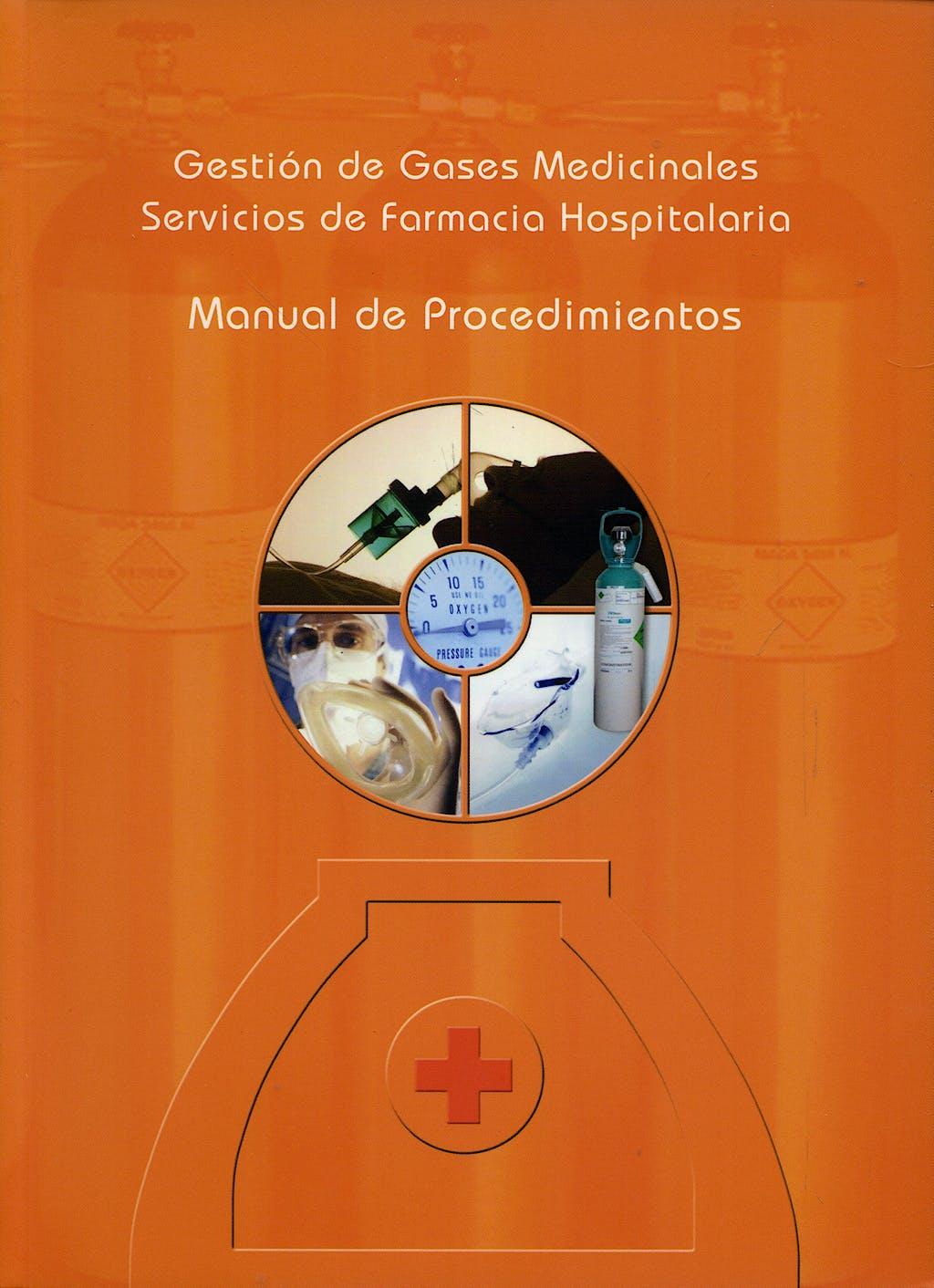 Portada del libro 9788461116577 Gestion de Gases Medicinales. Servicios de Farmacia Hospitalaria