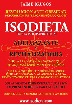 Portada del libro 9788461286232 Isodieta. Dieta Isolipoproteica: Adelgazante y Revitalizadora