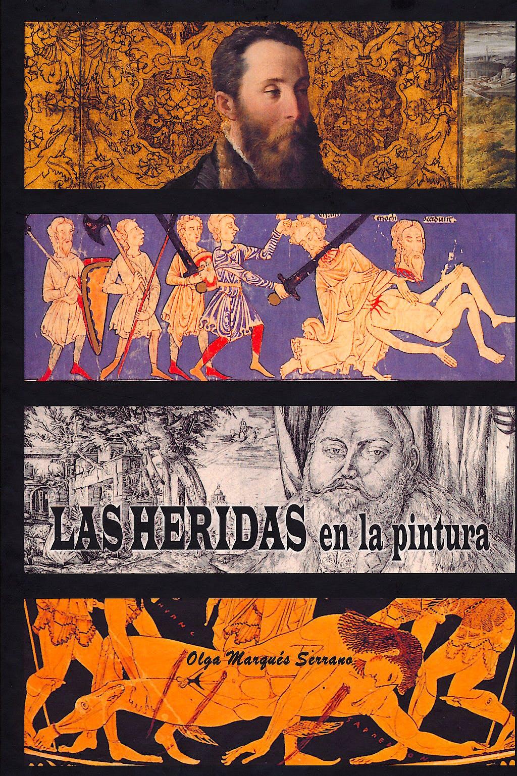 Portada del libro 9788461518722 Las Heridas en la Pintura