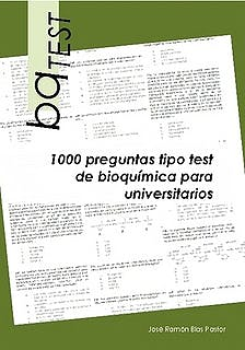 Portada del libro 9788461648061 Bqtest. 1000 Preguntas Tipo Test de Bioquimica para Universitarios
