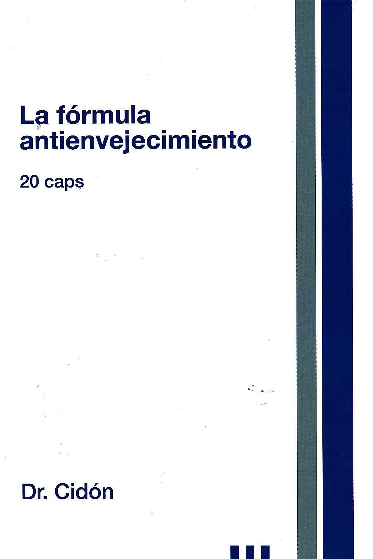 Portada del libro 9788461648146 La Fórmula Antienvejecimiento