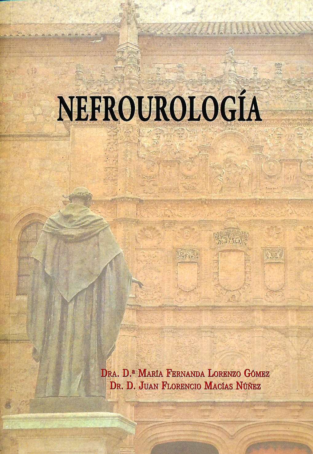 Portada del libro 9788461660322 Nefrourología
