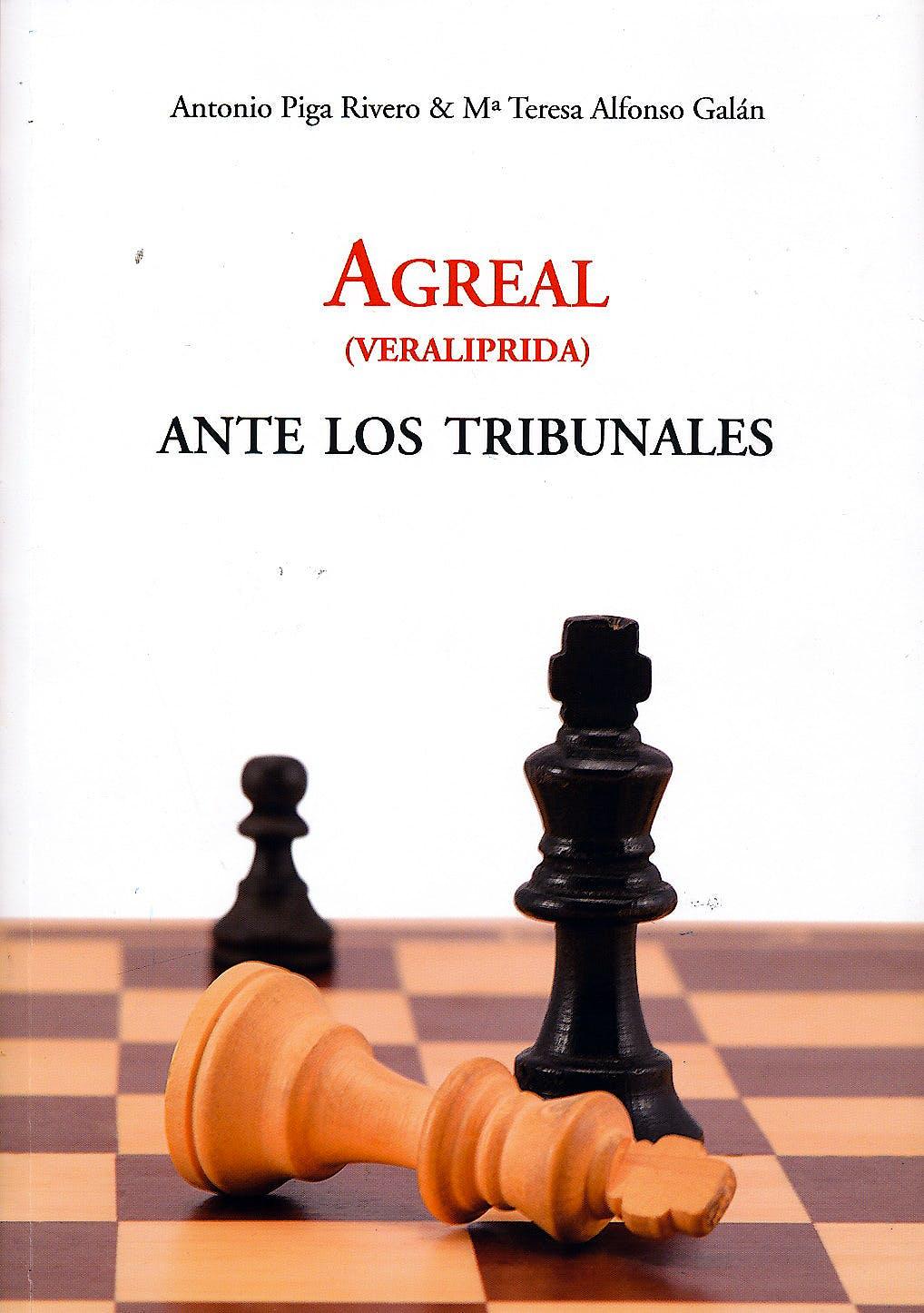 Portada del libro 9788461672554 Agreal (Veraliprida) ante los Tribunales