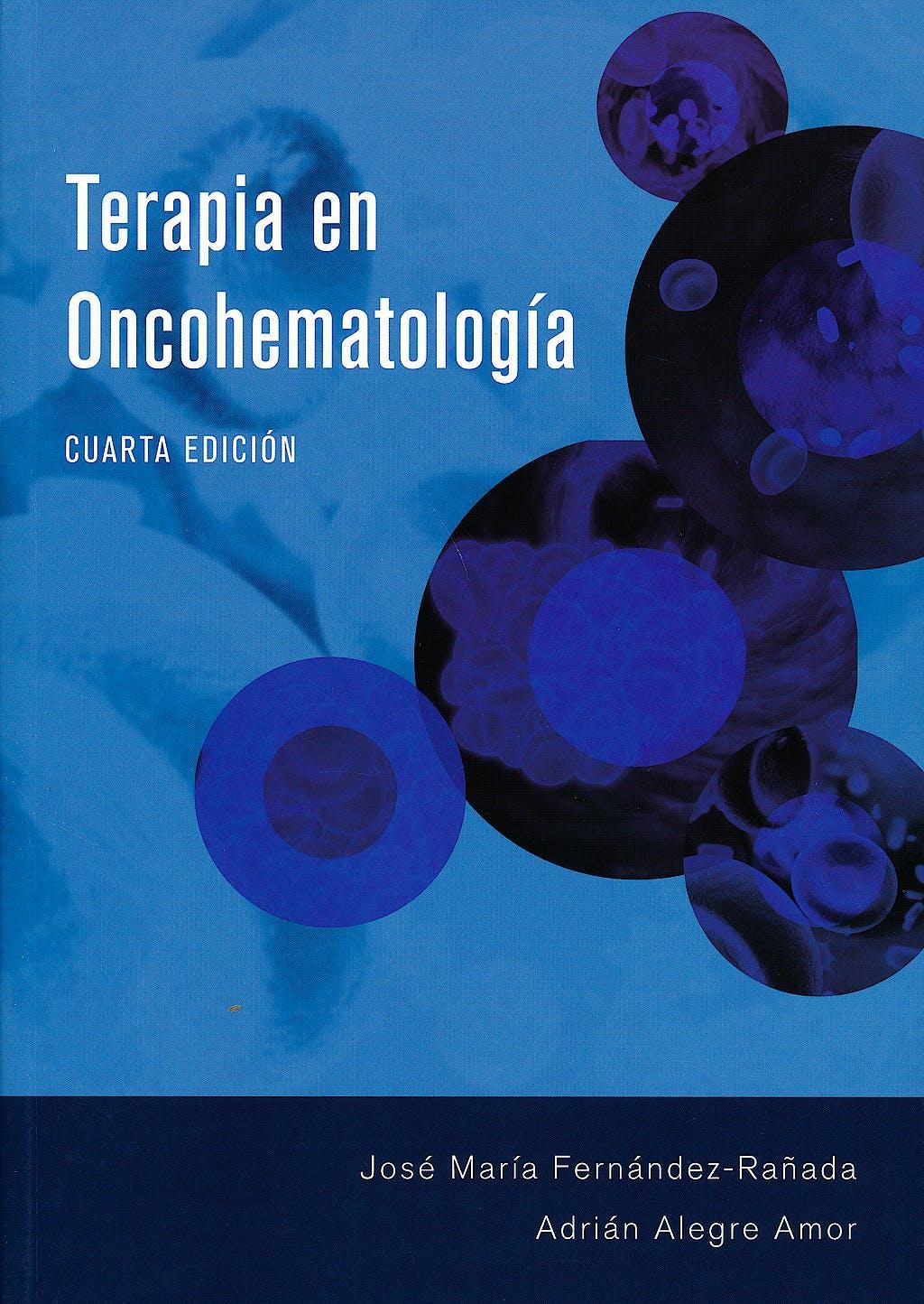 Portada del libro 9788461724444 Terapia en Oncohematología