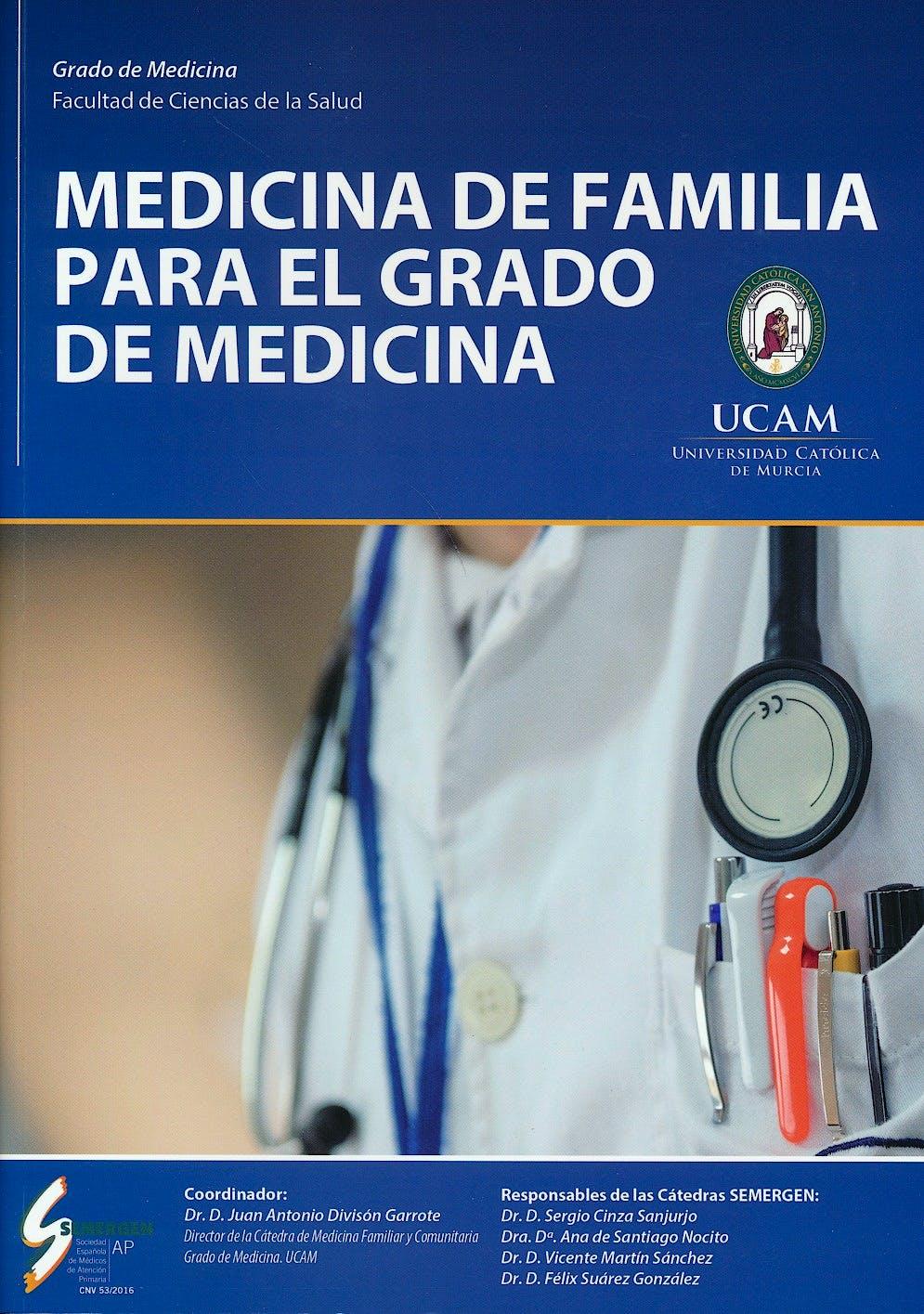 Portada del libro 9788461751716 Medicina de Familia para el Grado de Medicina