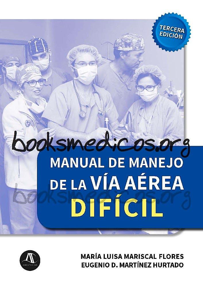 Portada del libro 9788461788842 Manual de Manejo de la Vía Aérea Difícil