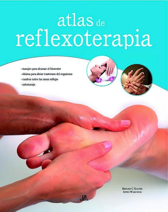 Portada del libro 9788466226561 Atlas de Reflexoterapia