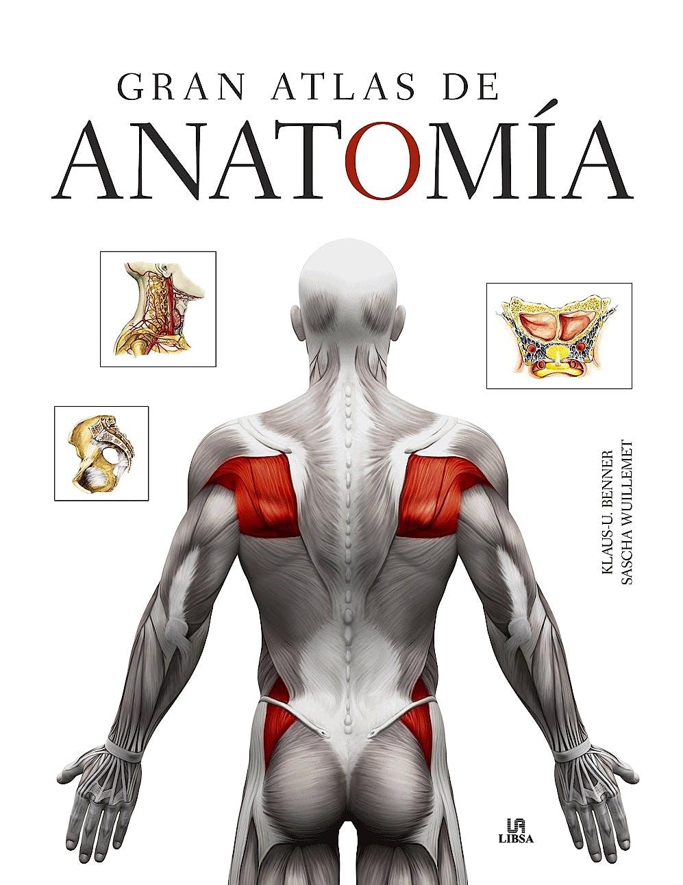 Portada del libro 9788466236713 Gran Atlas de Anatomía