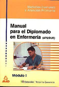 Portada del libro 9788466522663 Manual para el Diplomado en Enfermería Vol 1