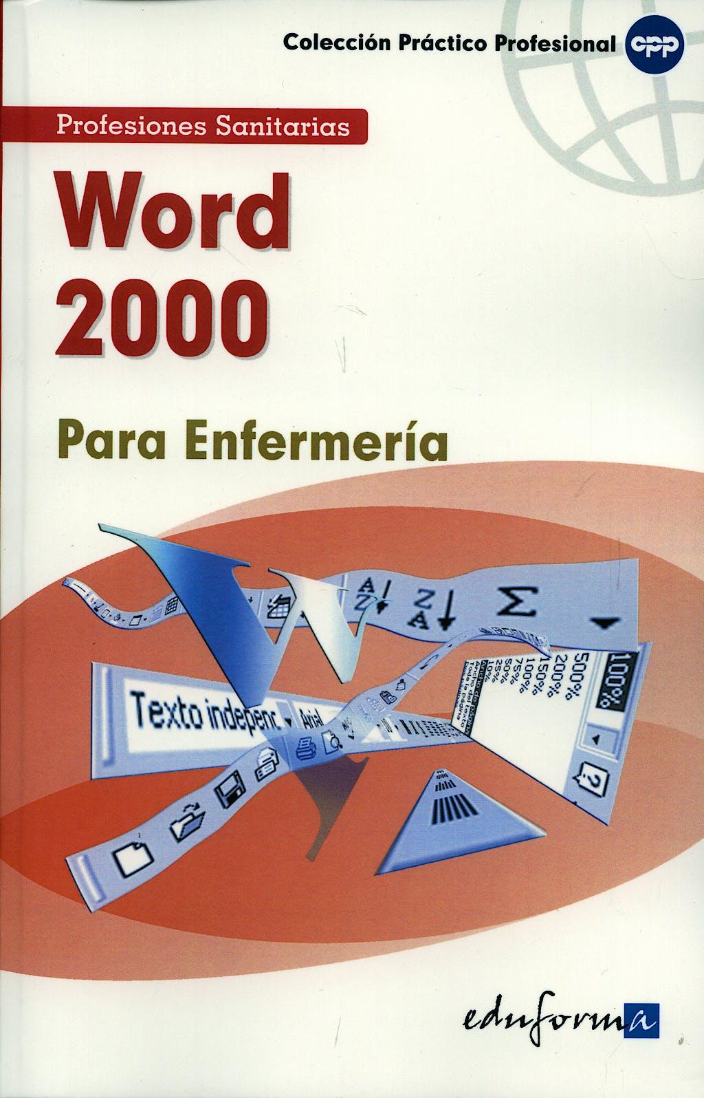 Portada del libro 9788466556231 Word 2000 para Enfermeria