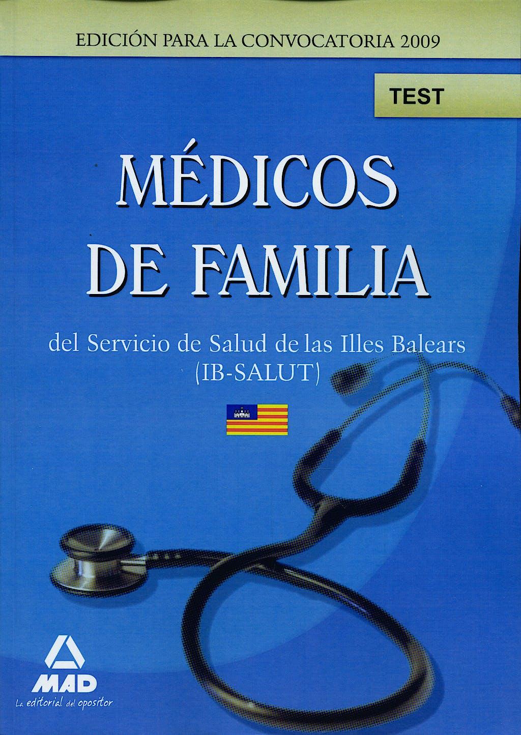 Portada del libro 9788467629798 Medicos de Familia del Servicio de Salud de las Illes Balears (Ib-Salut). Test