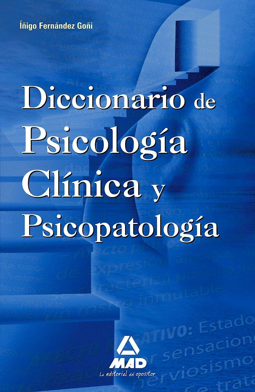 Portada del libro 9788467637144 Diccionario de Psicologia Clinica y Psicopatologia