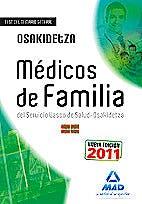 Portada del libro 9788467668407 Facultativos Medicos del Servicio Vasco de Salud-Osakidetza. Temario Comun y Test