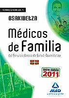 Portada del libro 9788467669787 Medicos de Familia del Servicio Vasco de Salud-Osakidetza. Temario General, Vol. I