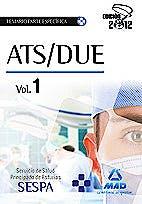 Portada del libro 9788467680768 Ats/due del Servicio de Salud del Principado de Asturias (Sespa). Temario de la Parte Especifica, Vol. 1