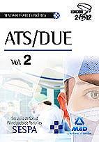 Portada del libro 9788467680775 Ats/due del Servicio de Salud del Principado de Asturias (Sespa). Temario de la Parte Especifica, Vol. 2