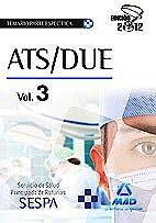 Portada del libro 9788467680782 Ats/due del Servicio de Salud del Principado de Asturias (Sespa). Temario de la Parte Especifica, Vol. 3