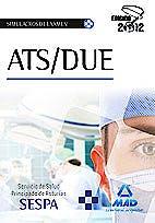 Portada del libro 9788467681192 Ats/due del Servicio de Salud del Principado de Asturias. Simulacros de Examen