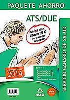 Portada del libro 9788467682182 Paquete Ahorro ATS/DUE Servicio Canario de Salud (SCS)